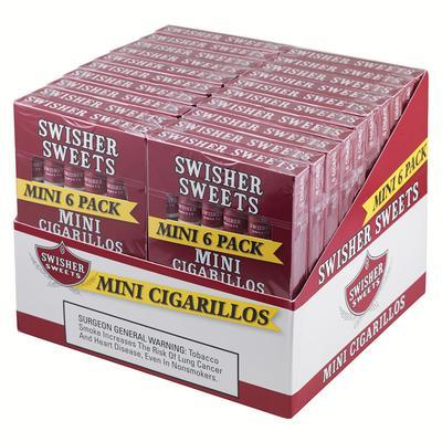 Swisher Sweets Mini Cigarillos 20/6 - CI-SWI-MINN6PK - 400