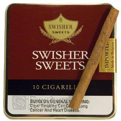 Swisher Sweets Mini Cigarillos (10) - CI-SWI-MINNPKZ - 400
