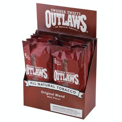 Swisher Sweets Outlaws Original Blend Mild 6/8 - CI-SWI-OUTPK - 400
