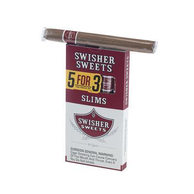 Swisher Sweets Slims 5 for 3 10/5 - CI-SWI-SLIM5PKZ - 400