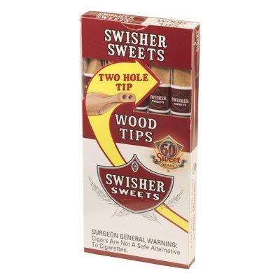 Swisher Sweets Wood Tip (5) - CI-SWI-TIPZ - 400