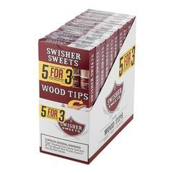 Swisher Sweets Wood Tip 5 for 3 10/5 Pk - CI-SWI-WT15PK - 400
