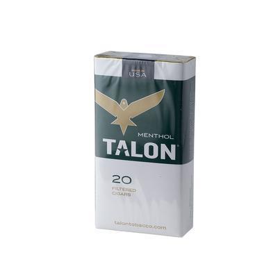 Talon Filtered Cigars Menthol (20) - CI-TFC-MENTZ - 75