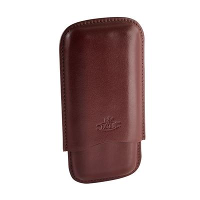Toscano 3 Finger Leather Cigar Case - CC-TOS-LONG