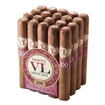 Value Line Dominican #200 Robusto - CI-VD2-ROBN - 400