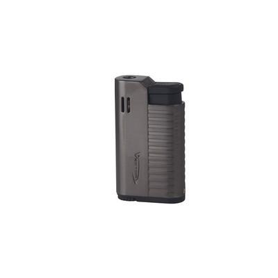 Hammer Gunmetal Satin Single Torch Lighter-LG-VEC-HAM02 - 400