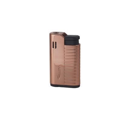 Vector Hammer Rose Gold Satin Single Torch Lighter - LG-VEC-HAM03