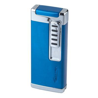 OTO Single Flame Cigar Lighter Blue Sparkle-LG-VEC-OTOBLU - 400