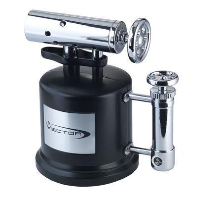 Vector Tri-Pump Triple Flame 2-Tone Chrome Black - LG-VEC-TRI04 - 400