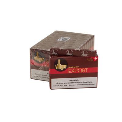 Villiger Export Maduro 10/5 - CI-VLE-EXPMPK - 400
