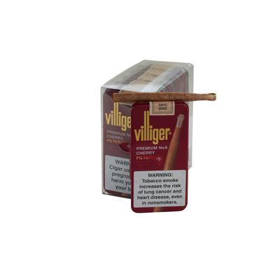 Villiger Premium No. 6 Cherry 5/10 - CI-VLG-6CHRPK