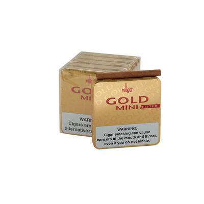 Villiger Gold Special Edition Filter 5/20 - CI-VLG-MINFGLD - 400