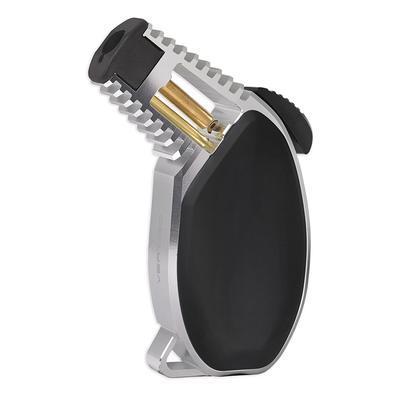 Vertigo Bond Lighter Brushed Chrome and Black - LG-VRT-BONDCHBK - 400