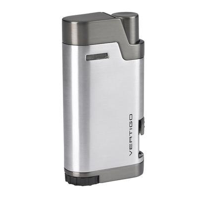 Vertigo Bullet Dual Torch Silver - LG-VRT-BULLSIL - 400