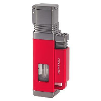 Vertigo Churchill Lighter Red - LG-VRT-CHURRED - 75