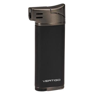 Vertigo Dublin Pipe Lighter Black/Gunmetal - LG-VRT-DUBBGUN - 400