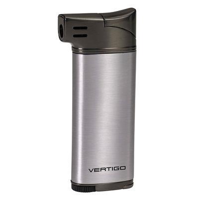 Vertigo Dublin Pipe Lighter Silver/Gunmetal - LG-VRT-DUBSLVGU - 400