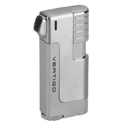 Vertigo Governor Pipe Lighter Silver - LG-VRT-GOVSILV - 400
