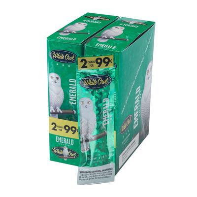 White Owl Foilfresh Cigarillos Emerald 30/2 - CI-WHI-CIGFFEM - 400