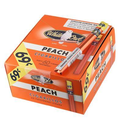 White Owl Cigarillos Peach 69cents - CI-WHI-CIGPEN - 400