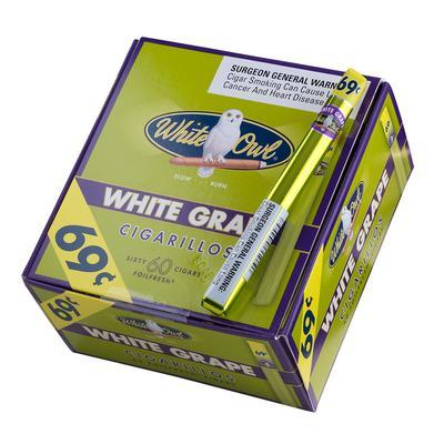 Cigarillos White Grape-CI-WHI-CIGWGN - 400