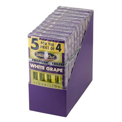 White Owl Cigarillos White Grape 10/5 - CI-WHI-CIGWGPK - 400