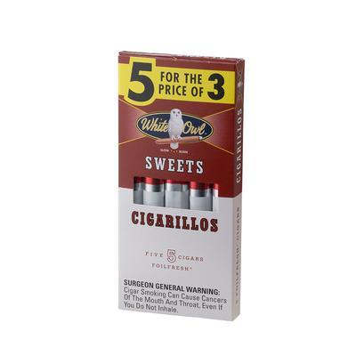 White Owl Cigarillo Sweet 10/5 - CI-WHI-SWTUPKZ - 75
