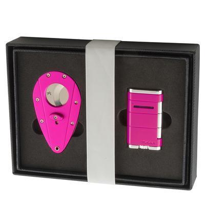 Xikar Hot Pink Gift Set-GS-XGS-HOTPINK - 400
