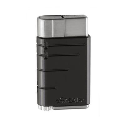 Xikar Linea Single Flame Tuxedo Black - LG-XIK-503BK - 75