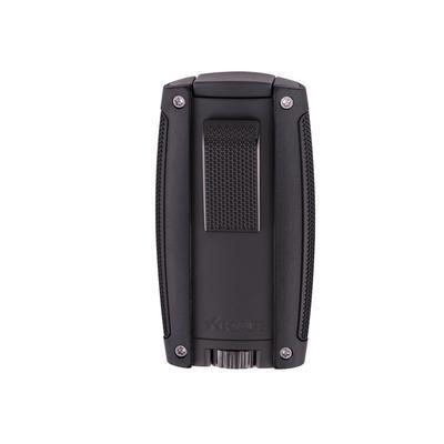 Xikar Turismo Double Flame Lighter Matte Black-LG-XIK-558BK - 400
