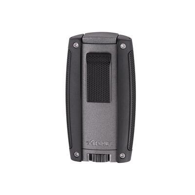 Xikar Turismo Double Flame Lighter Matte Grey-LG-XIK-558GR - 400
