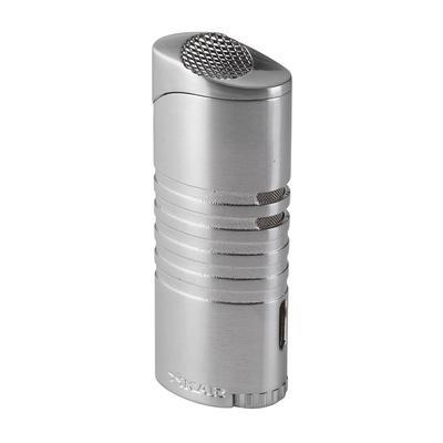 Xikar Lighters Ellipse III Brushed Silver - LG-XIK-565SL - 400