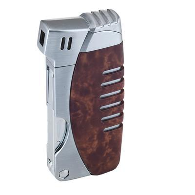 Xikar Resource Pipe Lighter Amboina Burl