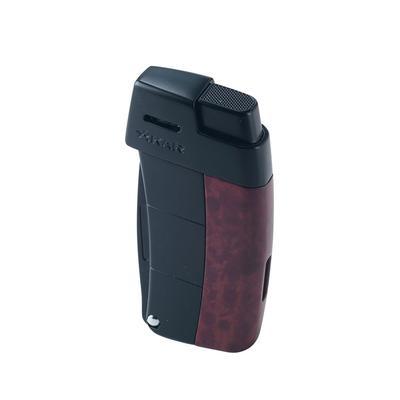 Xikar Resource Pipe Lighter Burl W/Black - LG-XIK-585BB - 400