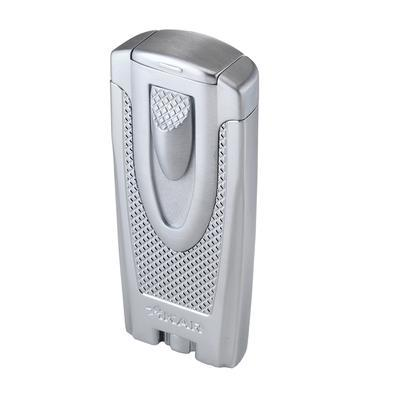 Xikar Lighters Axia Double Jet Flame Chrome Silver - LG-XIK-AXCHM - 400