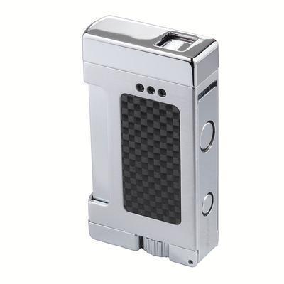 Xikar Versa Carbon Fiber Single Flame Cigar Lighter
