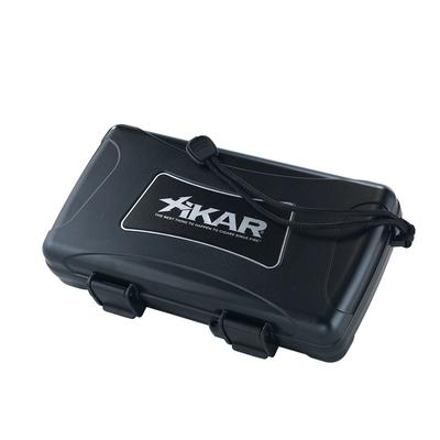 Xikar 5 Count Cigar Humidor Black-HU-XTM-05 - 400