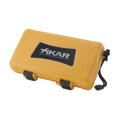 Xikar 5 Count Cigar Humidor Yellow-HU-XTM-205YLXI - 400