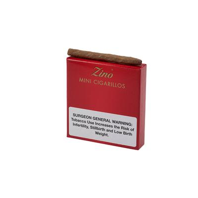 Zino Red Mini Cigarillos (20) - CI-ZIN-RMINIZ - 400