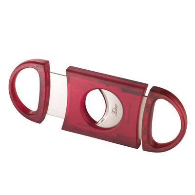 Zino Translucent Cigar Cutter - CU-ZIN-TRANRED - 400