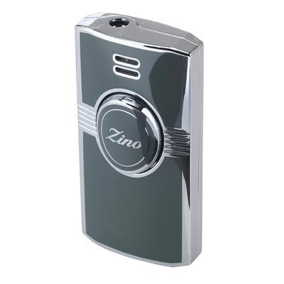 Zino Jet Flame Grey Lighter - LG-ZIN-1GRY - 75