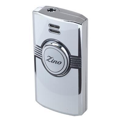 Zino Jet Flame White Lighter - LG-ZIN-1WHT - 75
