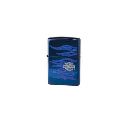 Zippo Polished Blue Harley - LG-ZIP-20711 - 400