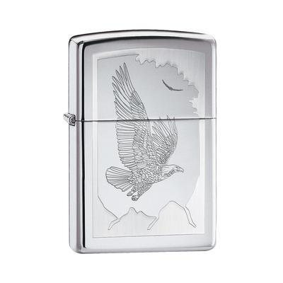 Zippo Eagle High Polish Chrome - LG-ZIP-21069 - 400