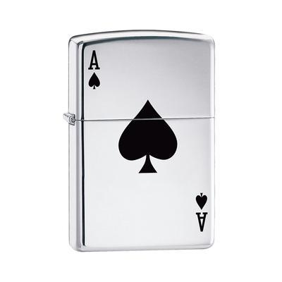 Classic Ace Of Spades-LG-ZIP-24011 - 400