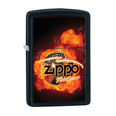 Zippo Clasic With Flames - LG-ZIP-28335 - 400