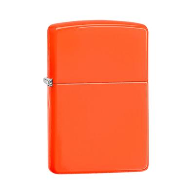 Zippo Lighter Neon Orange - LG-ZIP-28888 - 400