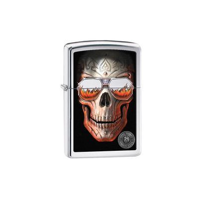 Zippo Anne Stokes Skull - LG-ZIP-29108 - 400