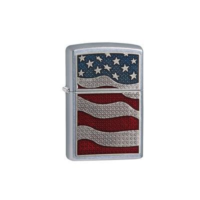 Zippo American Flag Diamond Plate - LG-ZIP-29513 - 400