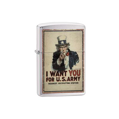 Zippo I Want You For U.S. Army - LG-ZIP-29595 - 400